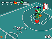Click to Play Spooky Hoops