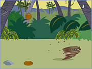 Click to Play Taz Coconut Catching