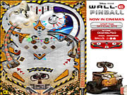 Click to Play Wall-E Pinball
