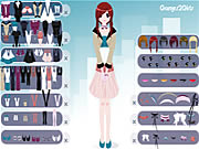 Click to Play Shy Girl Dressup
