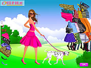 Click to Play Girl and Pet Dress up