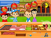 Click to Play Turkey Burger