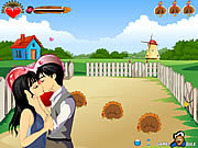 Click to Play Farm Kissing