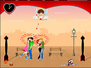 "Click to Play Lover""s Day Kiss"