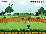 Click to Play Sonic In Garden