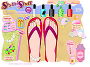 Click to Play Stylin Stuff: Pedicure
