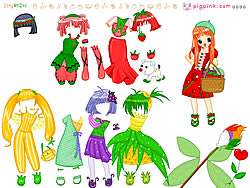 Click to Play Fruit Doll Dressup