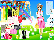 Click to Play Rainbow Style Dress Up