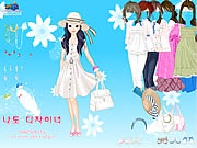 Click to Play Spring Hats Dress Up