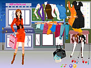 Click to Play Hot Fashion Shopping Girl