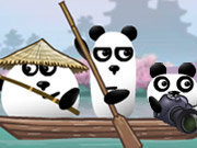 Click to Play 3 Pandas In Japan