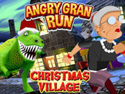 Click to Play Angry Gran Run Xmas Village WebGL