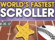Click to Play Cadbury: World's Fastest Scroller