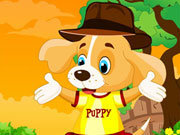 Click to Play Cute Puppy Dressup