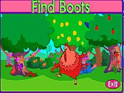 Click to Play Dora Find Boots