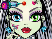 Click to Play Monster High Skin Doctor