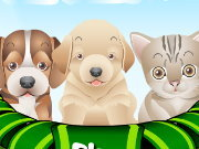 Click to Play Puppy and Kitten Caring Game