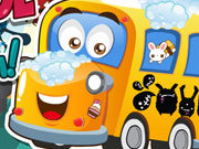 Click to Play School Bus Wash