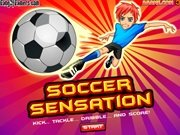 Click to Play Soccer Sensation