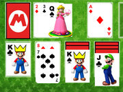 Click to Play Super Mario Solitaire